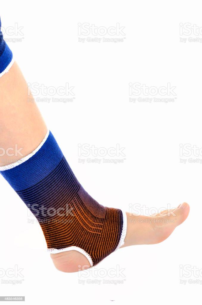Ankle brace stock photo