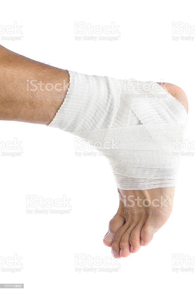 Ankle support royalty-free stock photo