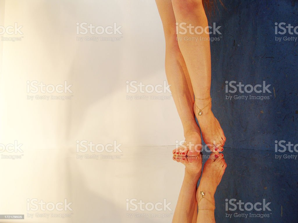 ankles royalty-free stock photo