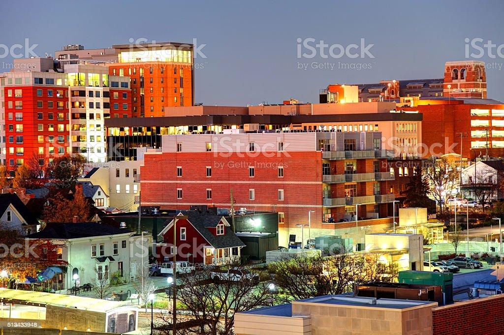 Ann Arbor, Michigan stock photo
