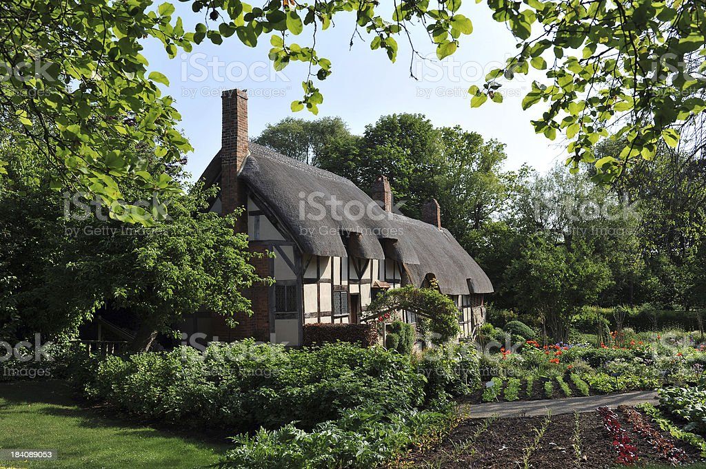Ann Hathaway's Cottage royalty-free stock photo
