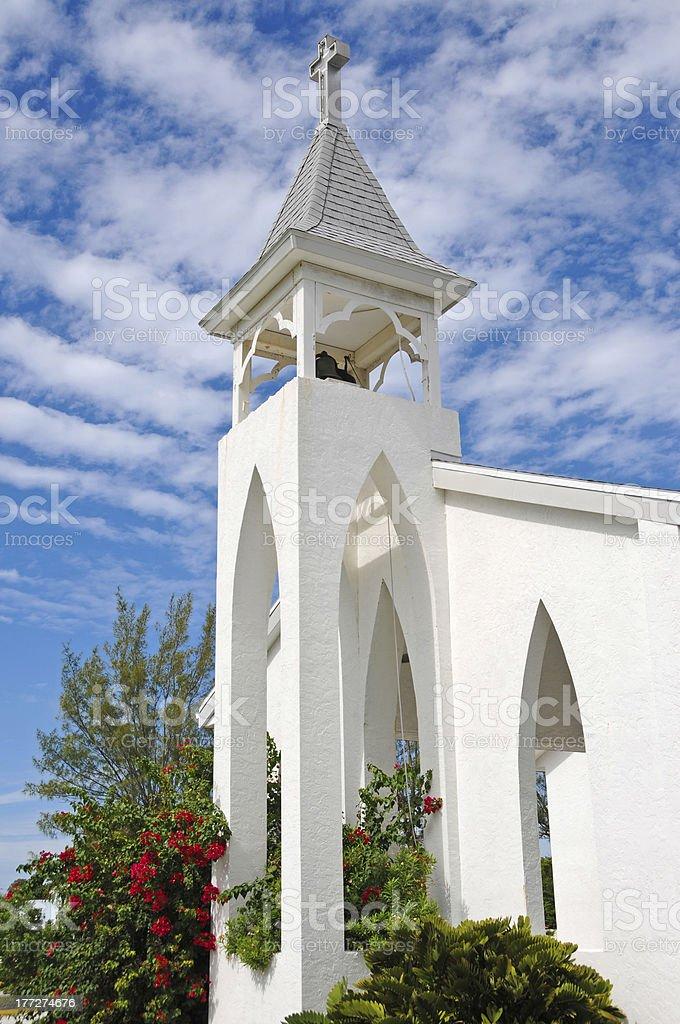 Anna Maria Island Church stock photo
