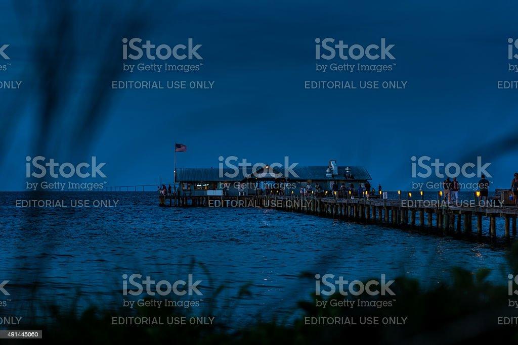Anna Maria Island City Pier stock photo