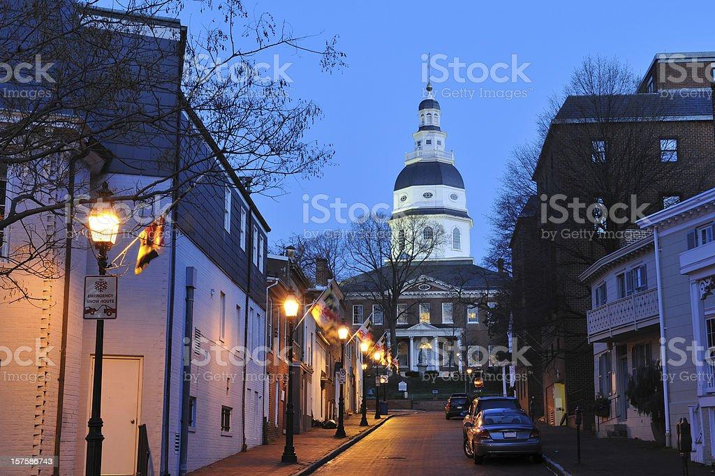 Annapolis at Dawn royalty-free stock photo