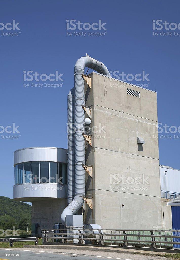 Annapolis Royal Generating Station stock photo