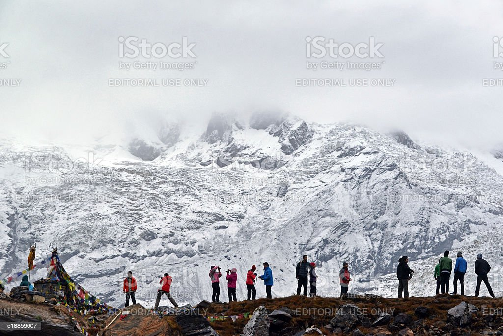 Annapurna Base Camp, Nepal stock photo