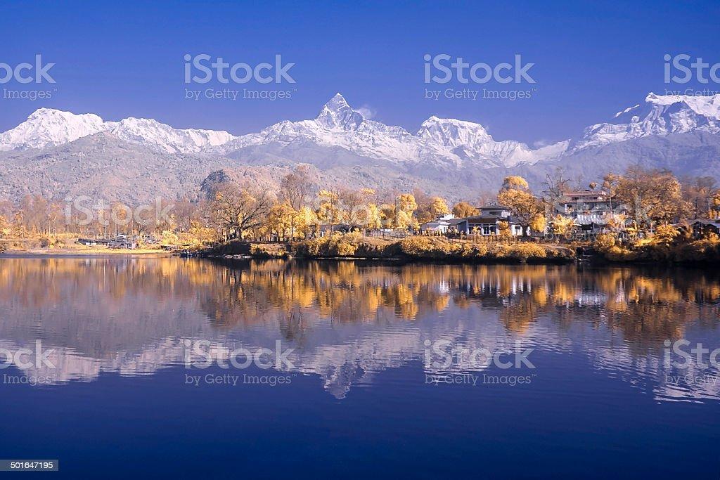 Annapurna stock photo