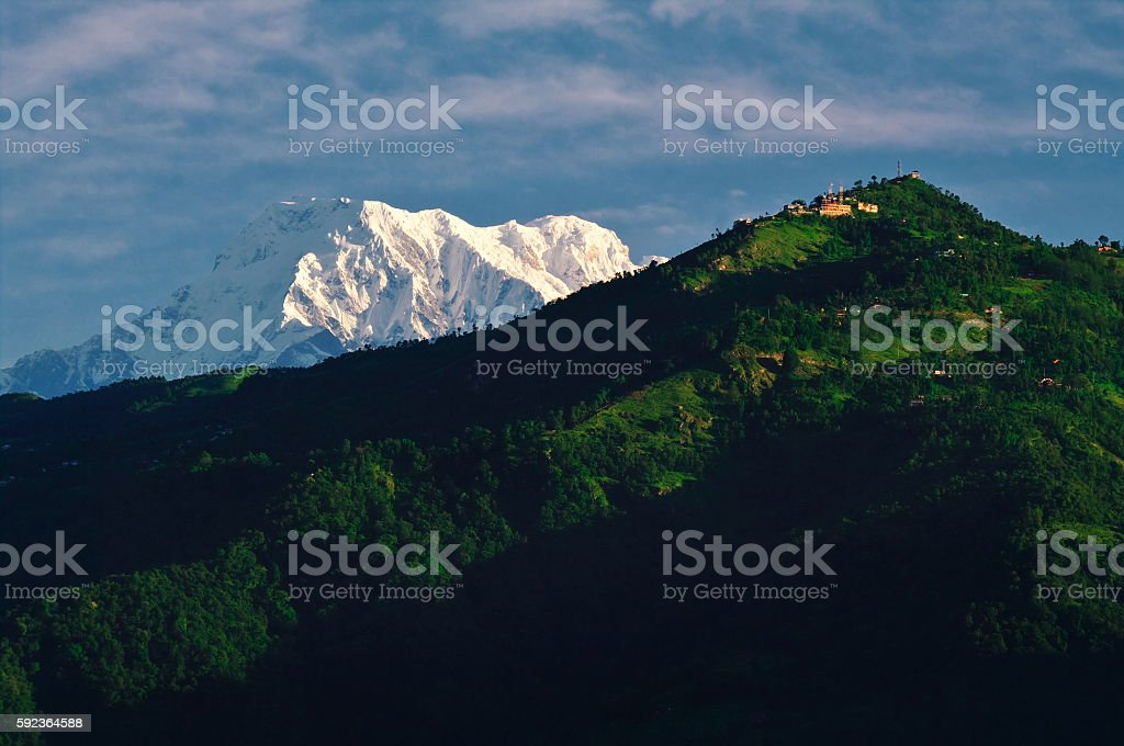 Annapurna stock photo