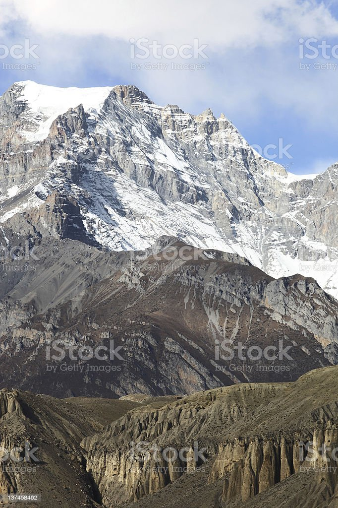 Annapurna range royalty-free stock photo