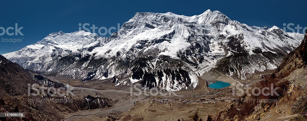 Annapurna Range royalty-free stock photo