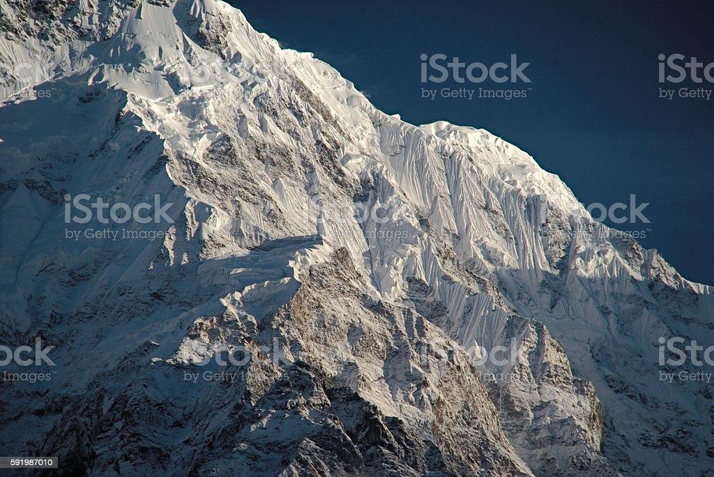 Annapurna South stock photo