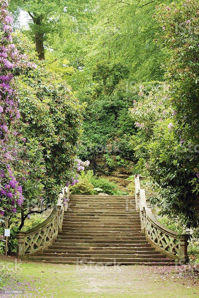 Anne Boleyn garden hever castle england stock photo