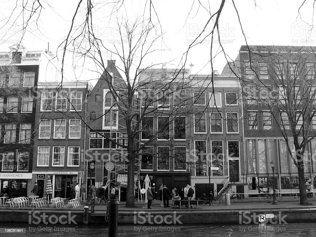 Anne Frank House royalty-free stock photo