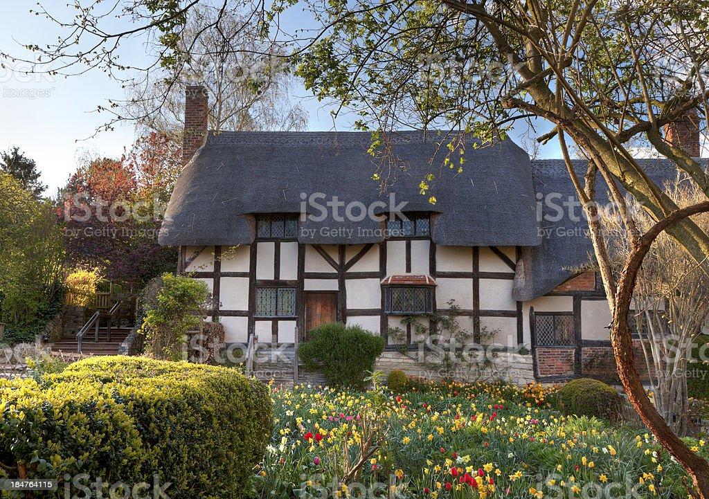 Anne Hathaways Cottage stock photo