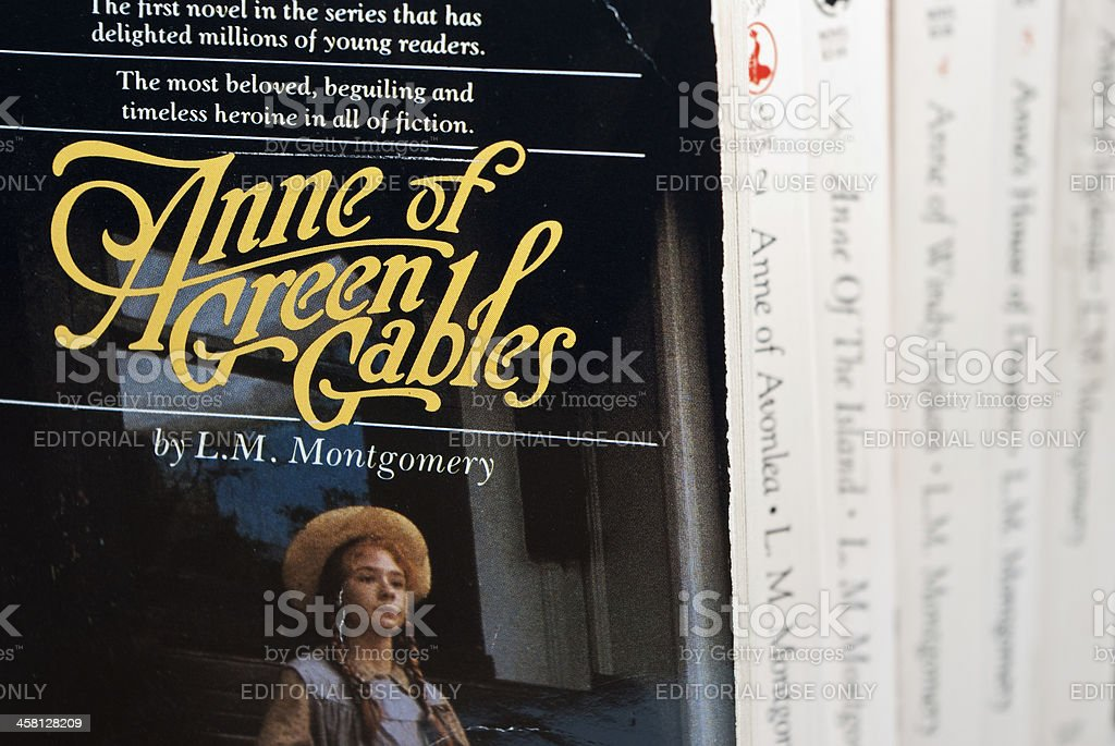 Anne of Green Gables royalty-free stock photo