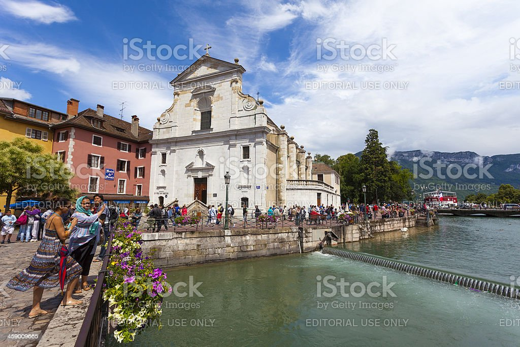 Annecy, France on summers day royalty-free stock photo