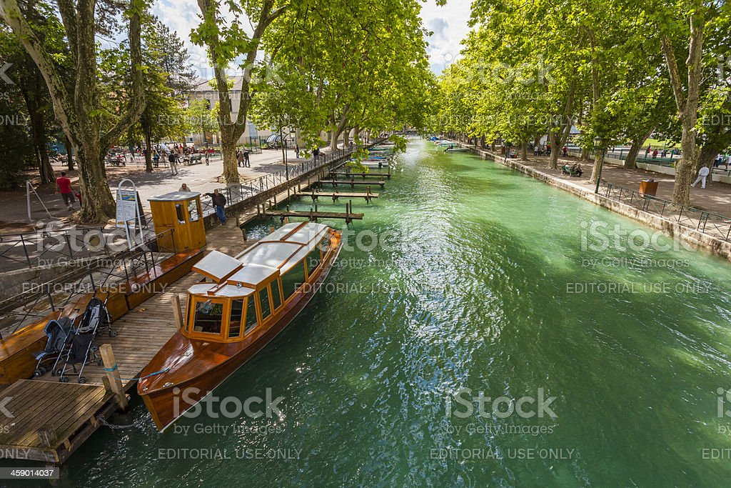 Annecy France royalty-free stock photo