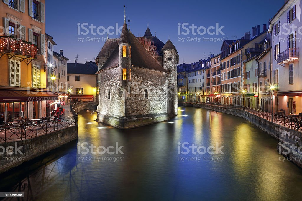Annecy, France. stock photo