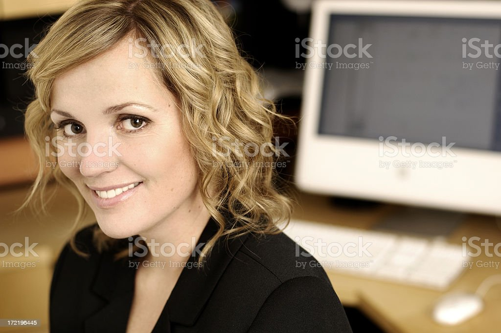 annette eye contact royalty-free stock photo