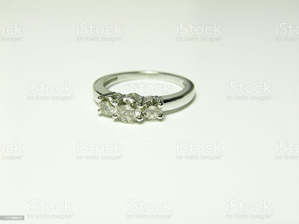 Anniversary Ring stock photo
