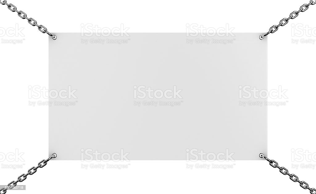 Announcement board royalty-free stock vector art
