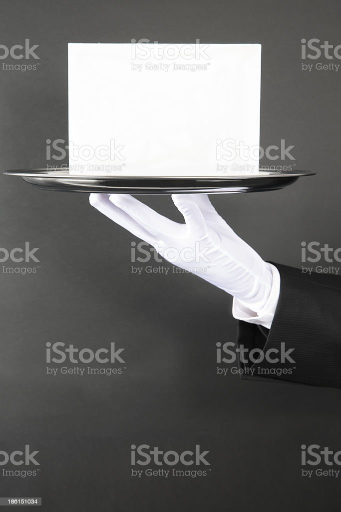 Announcement for You stock photo