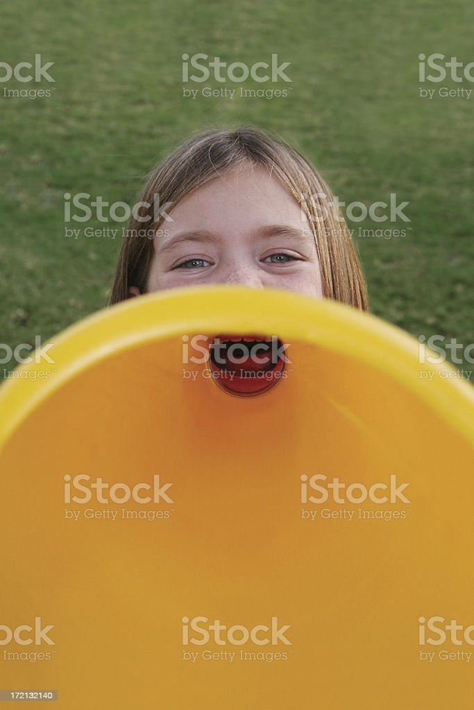 Announcement! royalty-free stock photo
