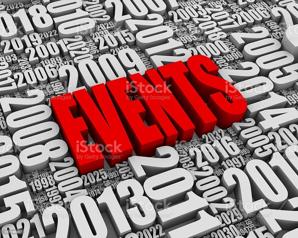 Annual Events stock photo