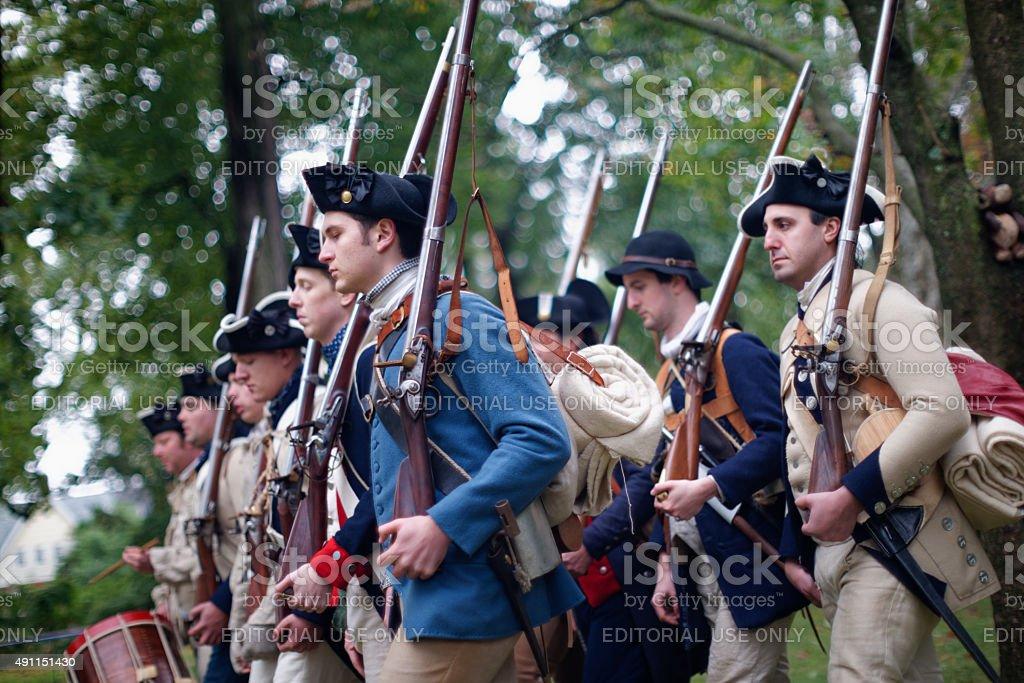 Annual Historic Revolutionary Germantown Festival, Northwest Philadelphia, PA stock photo