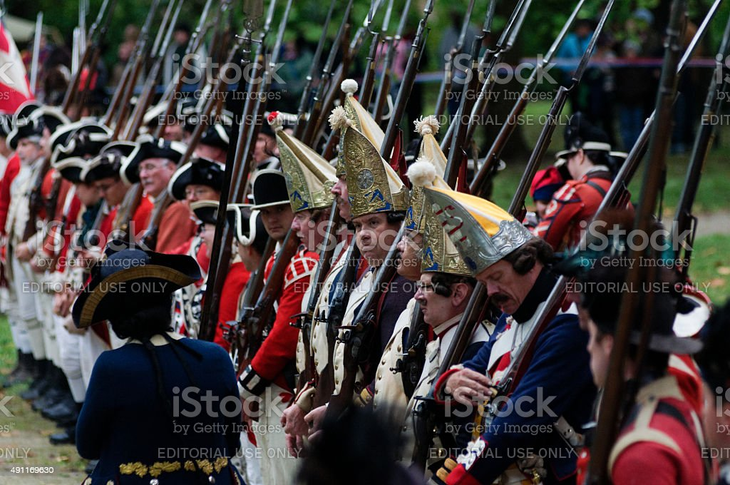 Annual Historic Revolutionary Germantown Festival, Northwest Philadelphia, PA stock photo