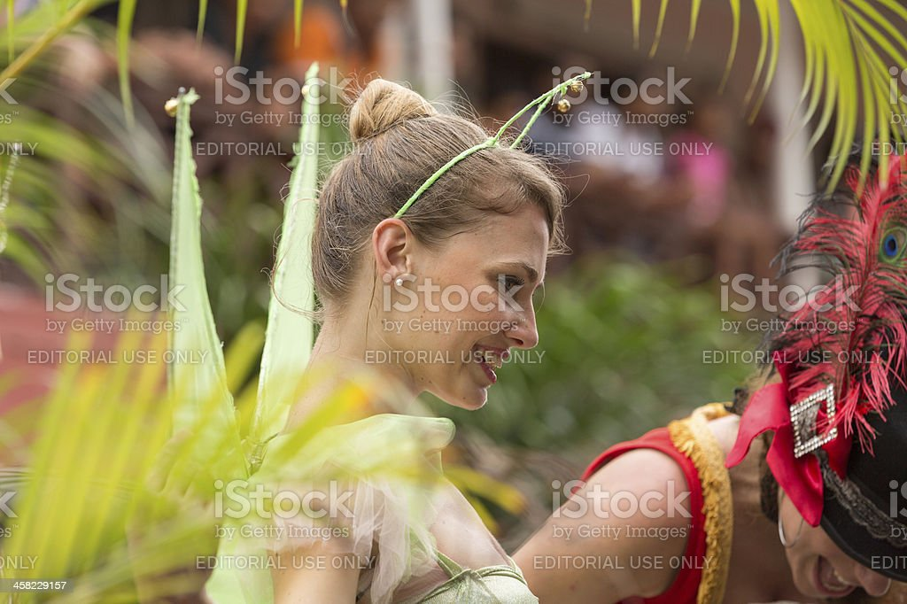 Victoria, Seychelles - February 9, 2013: Annual international Carnival royalty-free stock photo