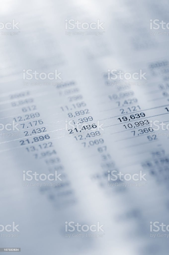 annual report royalty-free stock photo