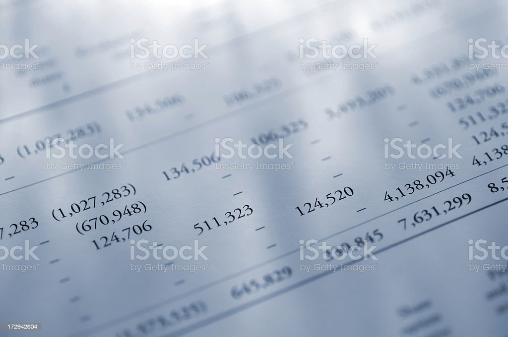 annual report stock photo
