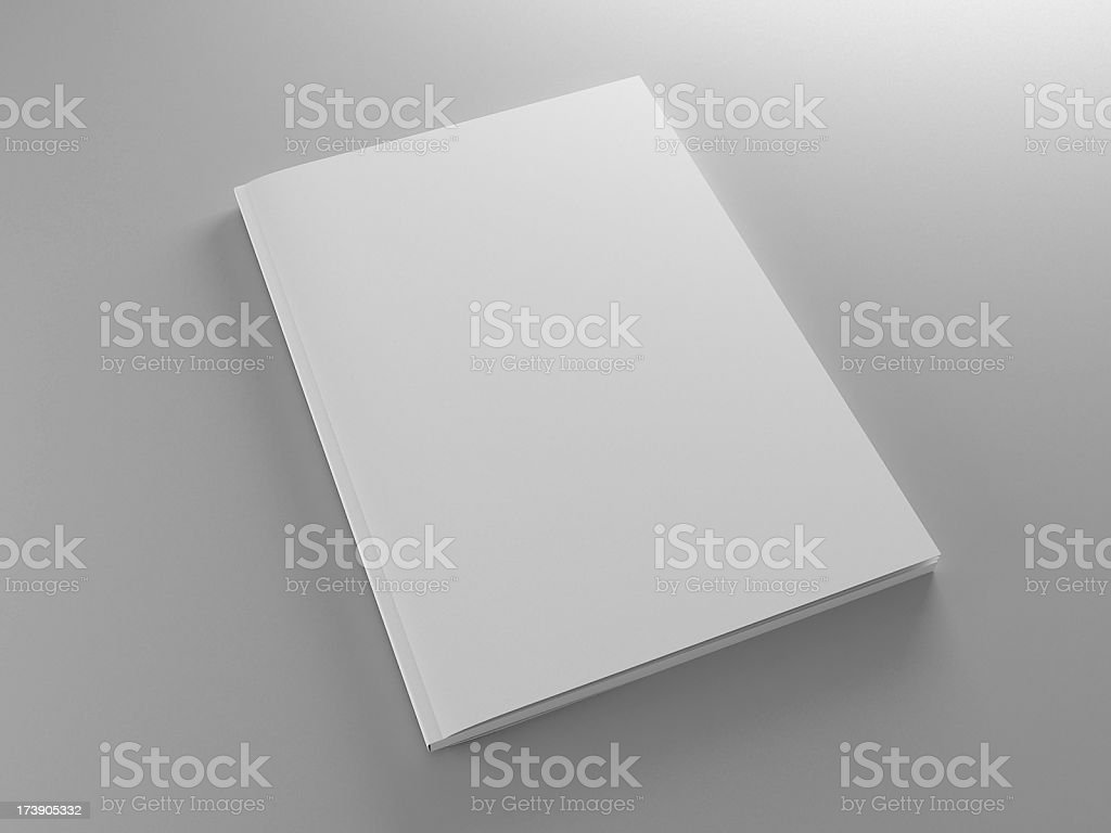 annual report template royalty-free stock photo