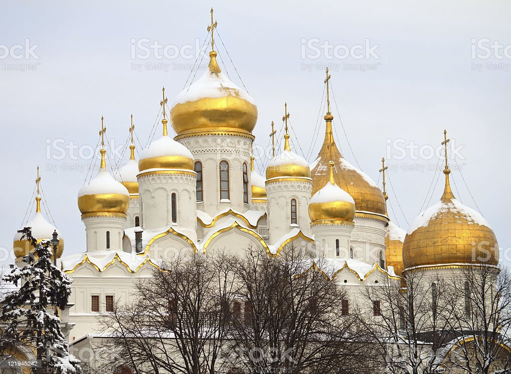 Annunciation Cathedral stock photo