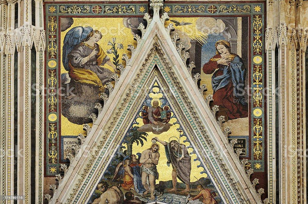 Annunciation stock photo
