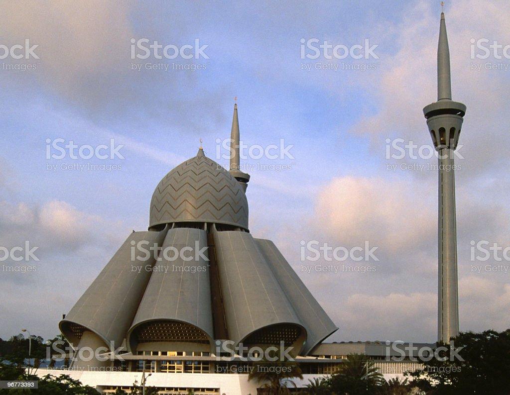 An'nur Jamek Moschee at Labuan Island / Malaysia royalty-free stock photo