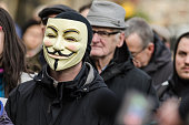 Anonymous Face in the Crowd