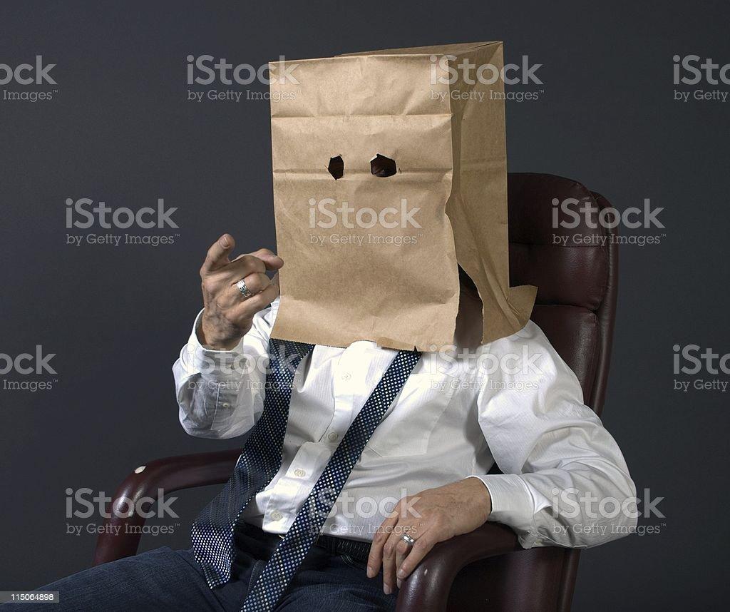 anonymous identity businessman stock photo