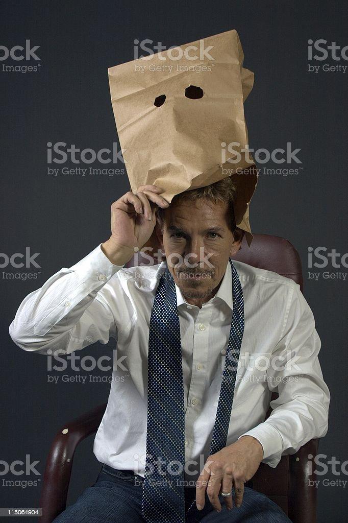 anonymous identity businessman revealed stock photo