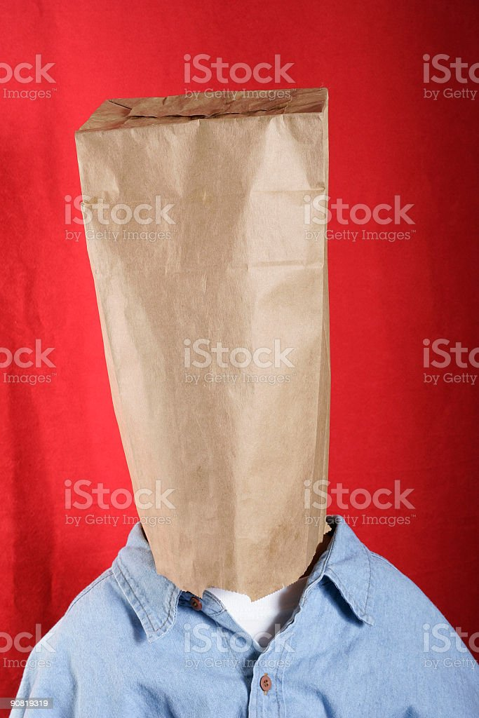 Anonymous royalty-free stock photo