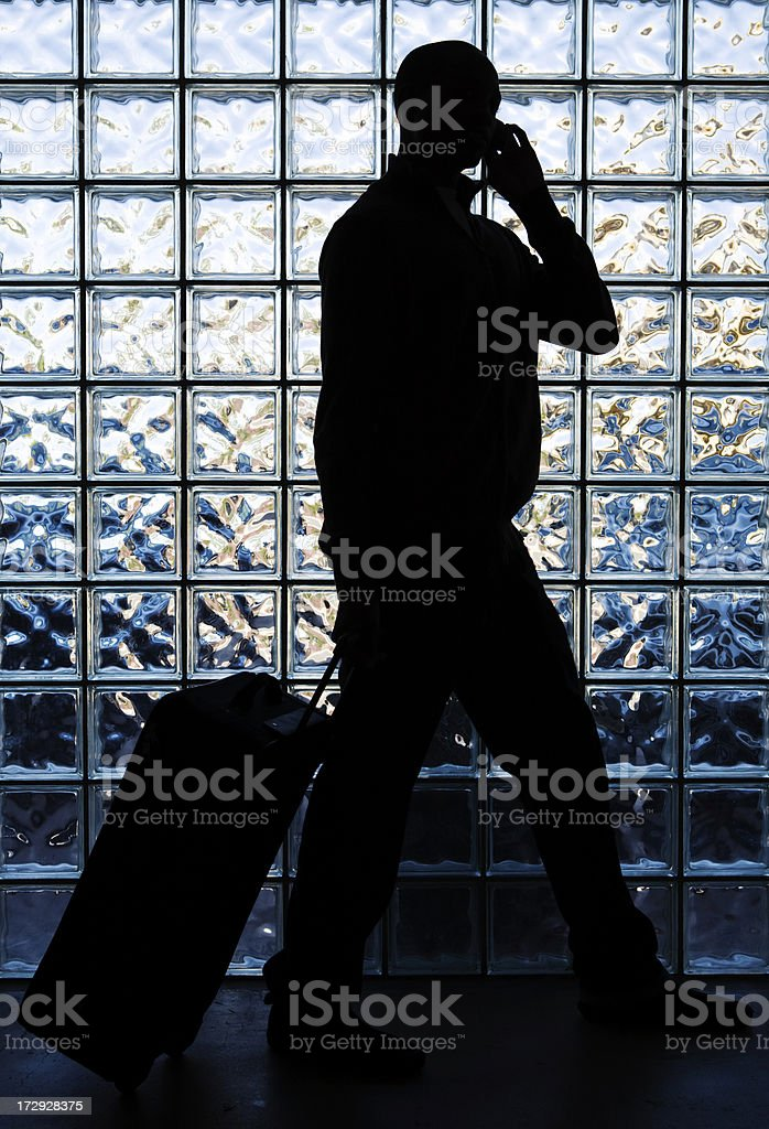Anonymous Traveler stock photo