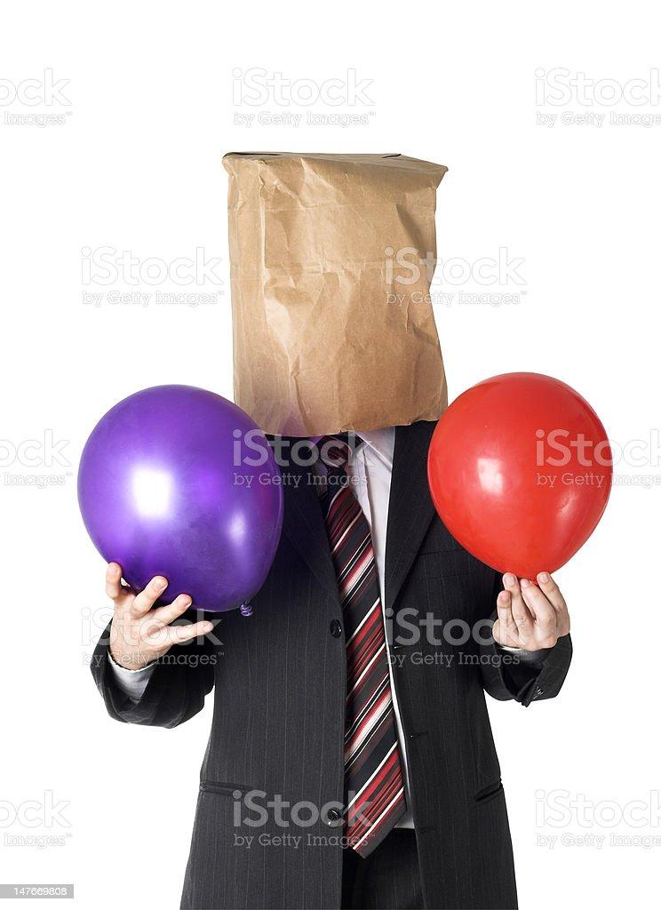 anonymus businessman stock photo