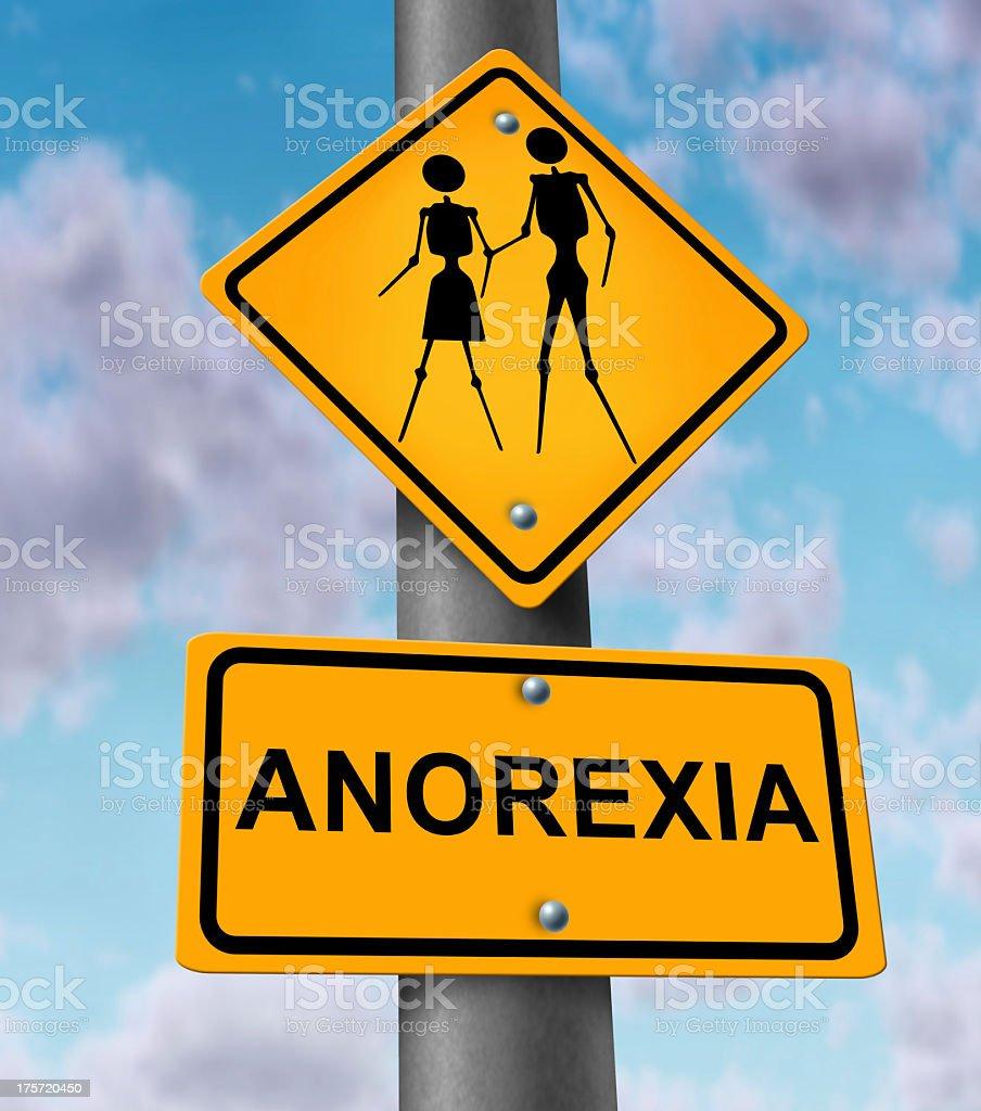 Anorexia Disease royalty-free stock photo