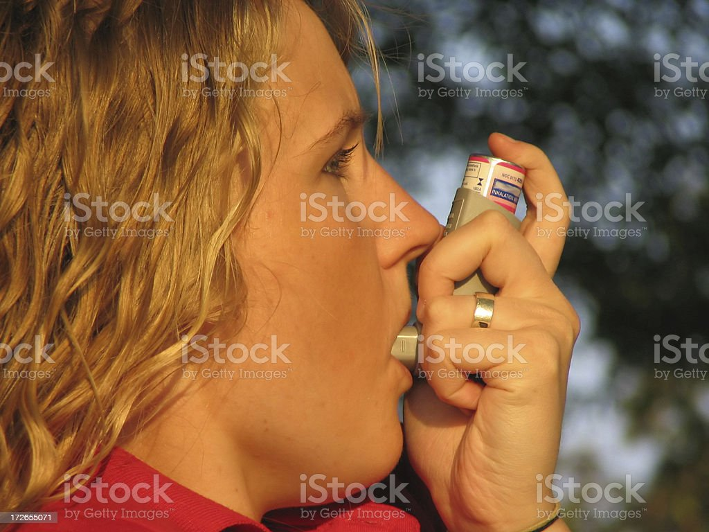 Another bad air day royalty-free stock photo