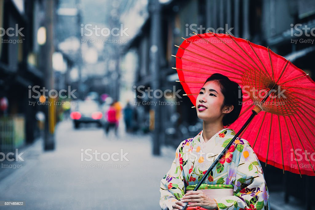 Another beautiful day in Japan stock photo