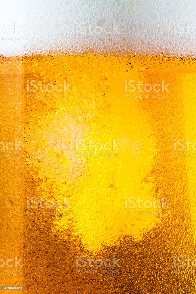 Another beer, please! stock photo