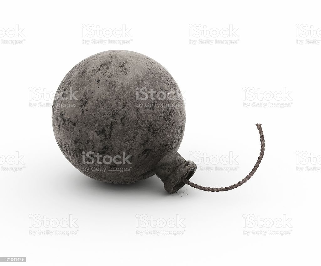 Another Bomb Rendering (no sex this time!) stock photo
