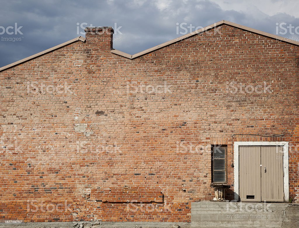 another brick on the wall royalty-free stock photo