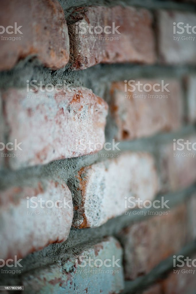 another brick on the wall stock photo